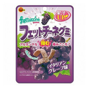 BOURBON Fettuccine Gummy (Grape Flavor) 50g - KonveniGomart