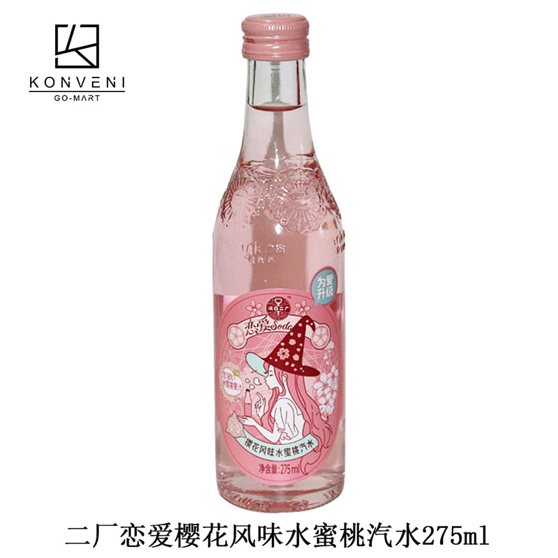 Er Chang Sakura Peach Soda Drinks 275ml