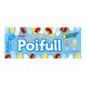 MEIJI Poifull 4 Kinds of Soda Jelly Bean 53g