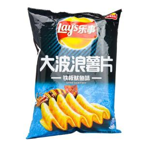 Lay's Potato Chips (Grilled Squid Flavor) 70g - KonveniGomart