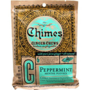 Chimes Peppermint Chewy Ginger Candy - KonveniGomart