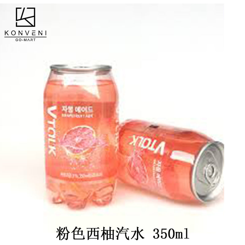 VTALK Grapefruit Soda (Pink) 350ml