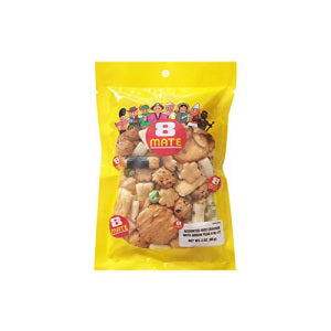 Assorted Rice Cracker with Green Peas 85g - KonveniGomart