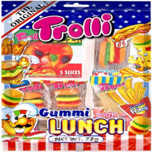 TROLLI Gummi Lunch Bag 77g - KonveniGomart