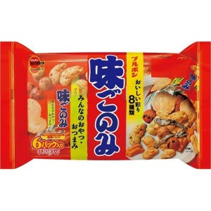 Aji Gonomi Family Assorted Cracker 130g - KonveniGomart