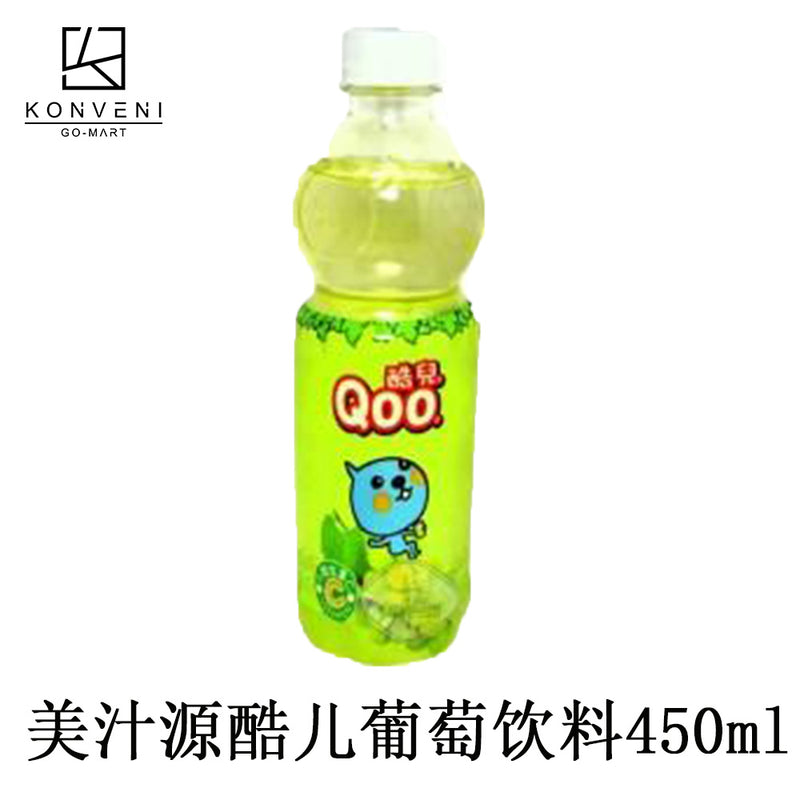 MinuteMaid Qoo Grape Juice Drink 450ml - KonveniGomart