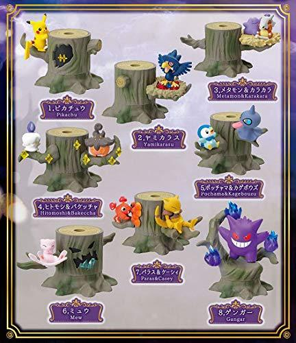 Re-ment Pokemon Candy Toy Forest 3 Collection (8 kinds in a set)