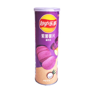 LAY'S Purple Sweet Potato Chips ( Coconut Falvor) 90g - KonveniGomart