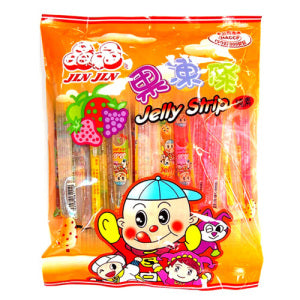Jin Jin Fruit Jelly Strip 470g - KonveniGomart