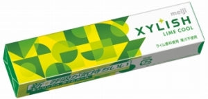 MEIJI  XYLISH Lime Cool Chewing Gum 12pcs - KonveniGomart