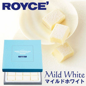 Royce Raw Chocolate (Mild White Flavor) 20pcs - KonveniGomart