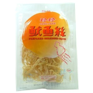 Jane Jane Prepared Shredded Squid 85g - KonveniGomart