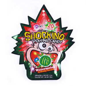 Striking Popping Candy (Watermelon Flavor) 30g - KonveniGomart