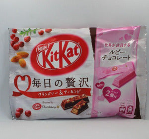 NESTLE KitKat Chocolate (Cranberry & Almond) Bag/121g - KonveniGomart