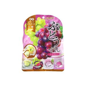 SENJAKU Assorted Grapes Candy 85g - KonveniGomart