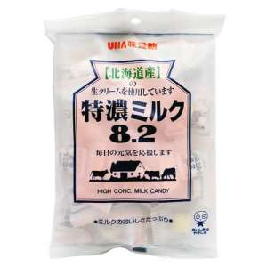 UHA High Concentrate 8.2 Milk Candy (Bag) 105g - KonveniGomart