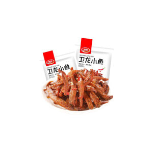WEI-LONG Little Fish (Spicy Flavor) 150g