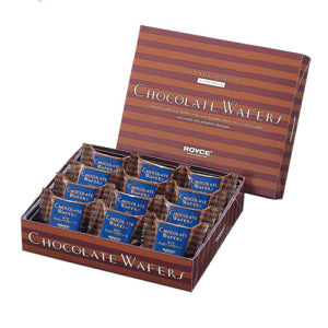Royce Hazelnut Cream Chocolate Waffers 12pcs - KonveniGomart