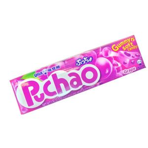 UHA Puccho Gummy Soft Candy (Grape Flavor) 50g - KonveniGomart