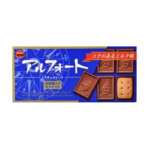 Bourbon Alfort Mini Chocolate Biscuit (12pcs)