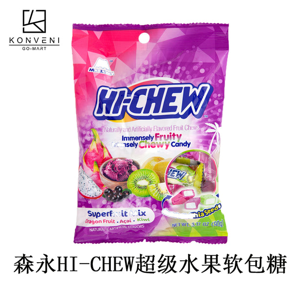 MORINAGA Hi-Chew Superfruit Mix Soft Candy 90g - KonveniGomart