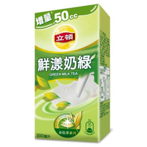 Lipton Green Milk Tea 300ml - KonveniGomart