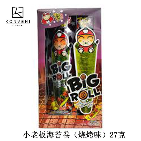 TAO KAE NOI Grilled Seaweed Roll (BBQ Flavor) 27g