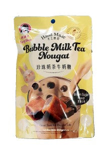 Tang Shop Bubble Milk Tea Nougat (Brown Sugar Flavor) 80g - KonveniGomart