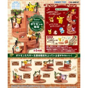 Re-ment Pokemon  Candy Toy Steps Collection (6 kinds in a set) - KonveniGomart