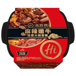 HAIDILAO Spicy Beef Tender Self-boiled Hot Pot Package 435g