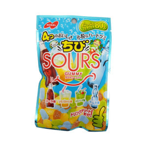 Nobel Sours Gummy (Mixed Soda) 80g - KonveniGomart