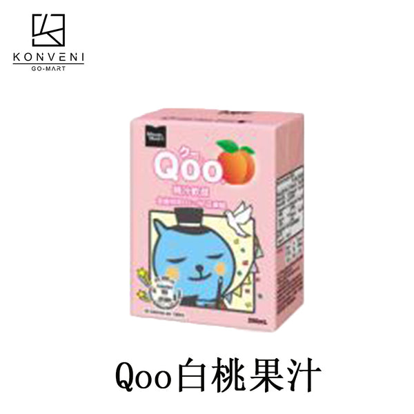 Minute Maid Qoo Peach Juice 200ml - KonveniGomart