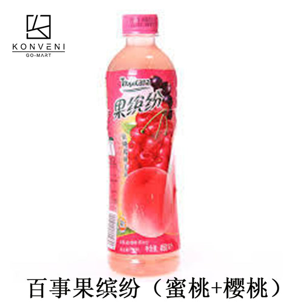 Pepsi Tropicana (Peach & Cherry Flavor) 500ml