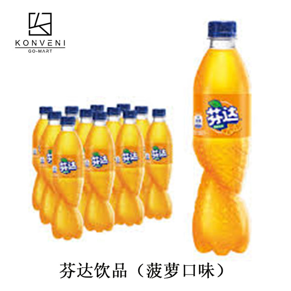 FANTA Pineapple Juice 500ml (C)