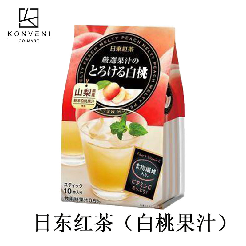 NITTO White Peach Fruit Juice 9.5g*10 - KonveniGomart