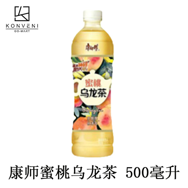 Master Kong  Oolong Tea (Peach Flavor) 500ml - KonveniGomart