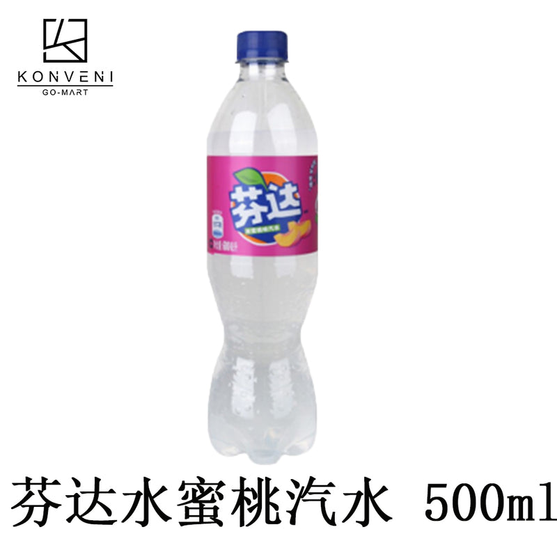 FANTA Peach Juice 500ml (C) - KonveniGomart