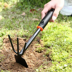 2-in-1 Stainless Carbon Steel Hoe and Cultivator