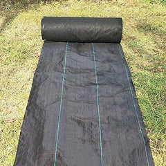 4.0oz 3ft/4ft/5ft/6ft x 50ft Heavy Duty Black Weed Control Landscape Fabric