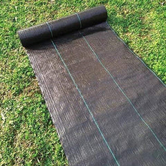 3.2oz Weed Barrier Landscape Fabric With Various Sizes, Black