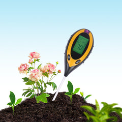 Soil moisture sensor measuring instrument