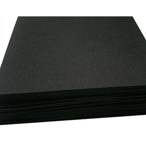 Sponge Neoprene 1/4inch Thick 12inchx60inch,Black