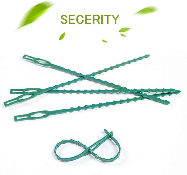 Garden Plant Twist Ties L7.1in,Green