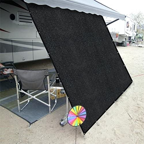 RV Awning Shade Kit , Black