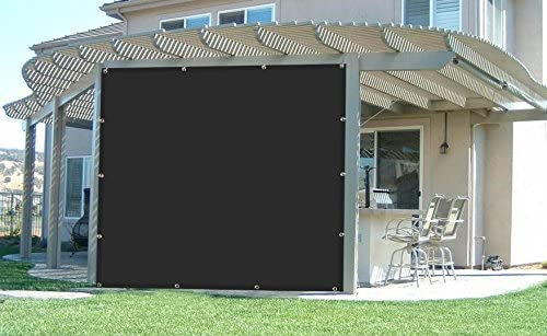 90% Sunscreen shade panel in Black, 6ftW