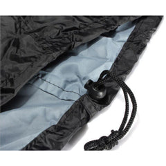 Black Silver Barbeque Grill Cover