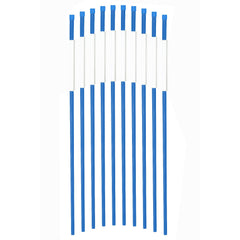 Safety markers 5/16inx24ftft pack of 50 blue