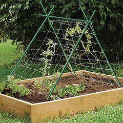 Garden Stakes 1/4in Dia 3 FT FRP Plant Supporting Stakes for Climbing Tomato Cucumber Strawberry Bean Tree, Dark Green