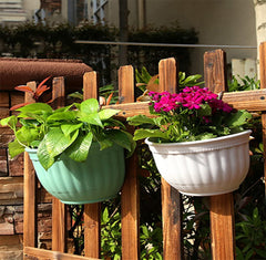 Plastic Hanging Planter With Hooks