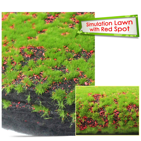 The simulation of lawn Red spot 6 pack,30*30
